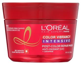 L'Oreal Hair Expert/Paris Color Vibrancy Intensive Post Color Repair Mask - 8.5 oz $5.99 thestylecure.com