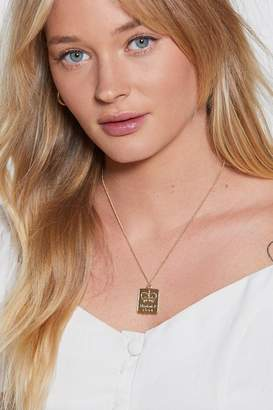 Nasty Gal Royal Treatment Pendant Necklace