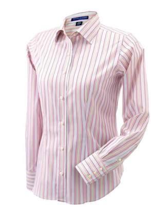 Co Devon & Jones Women's Savile Patterned Dress Shirt D600W L