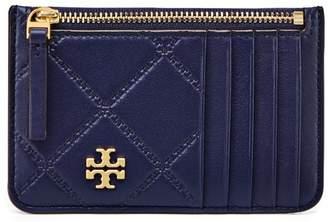 Tory Burch GEORGIA TOP-ZIP CARD CASE