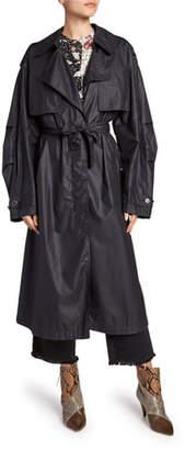Isabel Marant Clem Lightweight Trench Coat