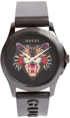 Gucci GG-Timeless angry-cat watch