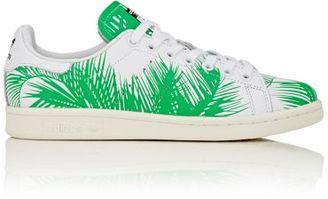adidas Women's Women's Stan Smith Palm Tree Sneakers-GREEN $200 thestylecure.com