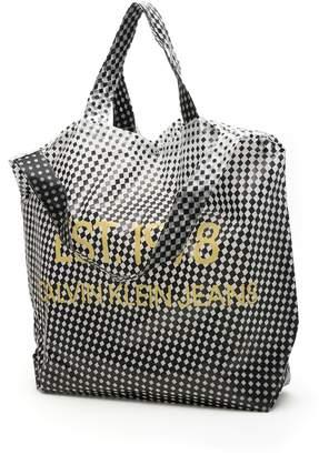 Calvin Klein Large Pvc Modernist Shopper