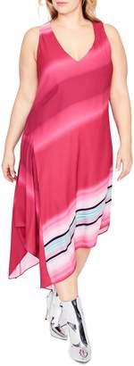 Rachel Roy Cami Scarf Midi Dress