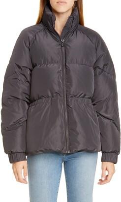 Ganni Tech Down Puffer Coat
