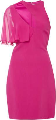 Cushnie et Ochs Xandra One Shoulder Mini Dress