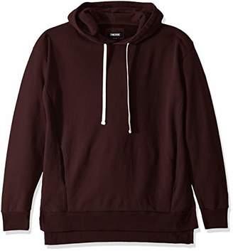 Zanerobe Men's Elongated Split Side Flintlock Hooded Sweatshirt