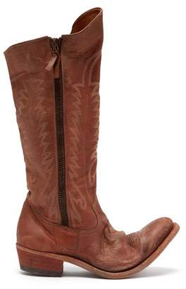 Golden Goose Golden Leather Boots - Womens - Brown