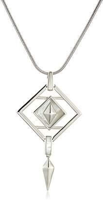 Noir Opaque Pendant Necklace