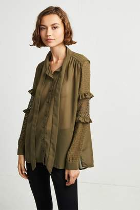 French Connenction Comino Patched Shirt