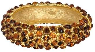 Kenneth Jay Lane Gold Tortoise Bracelet