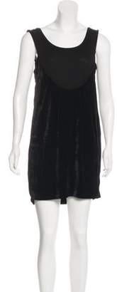 Joseph Niomi Velvet Dress