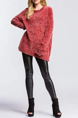 Cherish Heavyweight Chenille Sweater