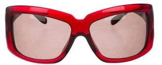 Bvlgari Oversize Square Tinted Sunglasses