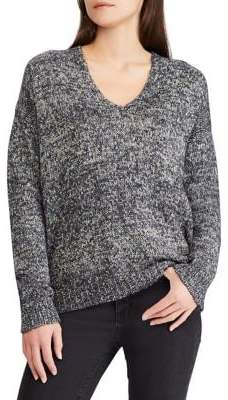 Lauren Ralph Lauren Relaxed-Fit V-Neck Sweater