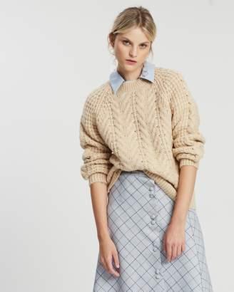 Mng Waffle Sweater