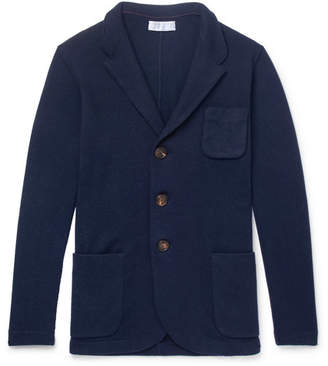 Brunello Cucinelli Cashmere Cardigan - Men - Navy
