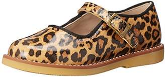 Elephantito Girls' Mary Jane W Buckle-K Flat