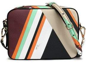 Emilio Pucci Printed Textured-Leather Shoulder Bag