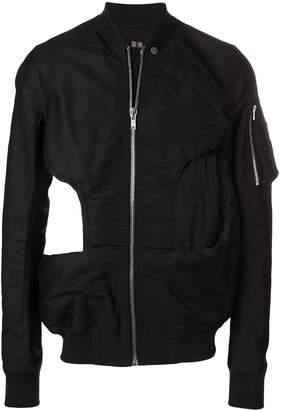 Rick Owens cutout bomber jacket