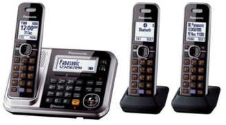Panasonic KX-TG7893AZS DECT Bluetooth®; Cordless Phone with Answering Machine Triple P