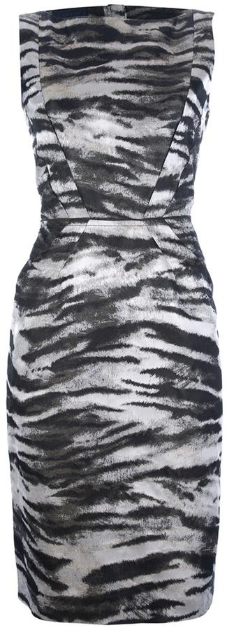Lanvin printed dress