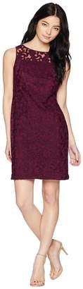 Lauren Ralph Lauren Petite Melia Sleeveless Day Dress Women's Dress