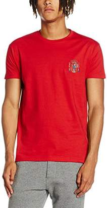 Toffs Retro Football Men's Spain Short Sleeve T-Shirt