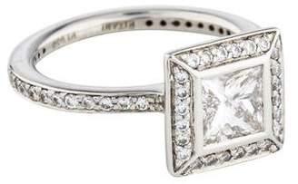 Engagement Ring Platinum Diamond Engagement Ring