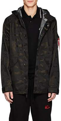 Alpha Industries Men's ECWCS Torrent Camouflage Tech-Twill Jacket