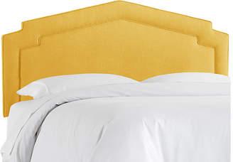 One Kings Lane Nina Headboard - French Yellow Linen