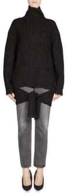 Balenciaga Turtleneck Tie Pullover