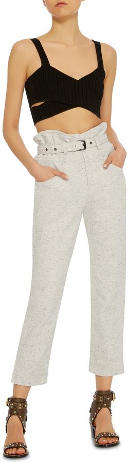 Isabel Marant High-Rise Cotton Pants 3