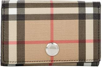 Burberry Small Vintage Check Fold Wallet