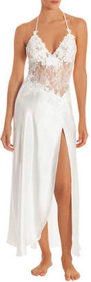 Jonquil Sutton Lace-Bodice Nightgown