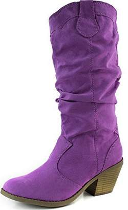 Qupid Women's Muse 1 Western Boot