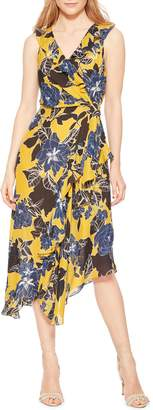 Parker Sleeveless Floral Print Midi Dress