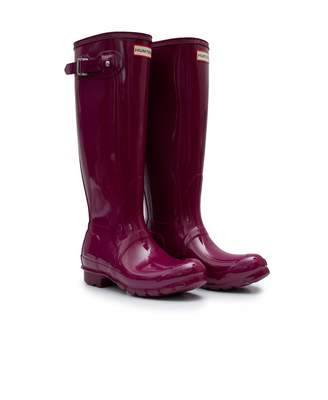Hunter Tall Gloss Welly Boots