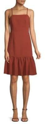Club Monaco Miija Ruffled Sleeveless Dress