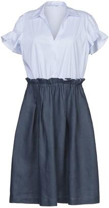 Biancoghiaccio Knee-length dresses - Item 34985584QA