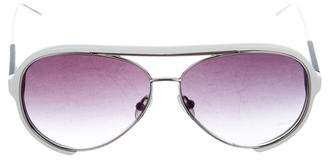 Sacai Aviator Gradient Sunglasses