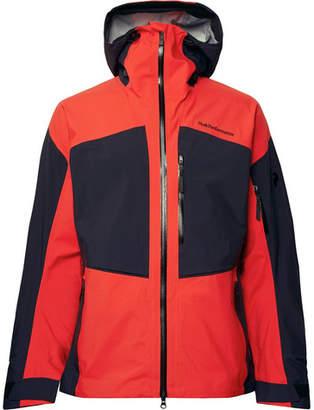 Peak Performance Gravity GORE-TEX Hooded Ski Jacket - Men - Tomato red