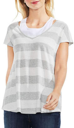 Vince Camuto Bold Stripe Top