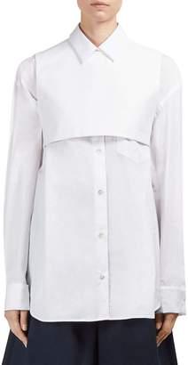 Roberto Cavalli Women's Cotton Button-Front Shirt