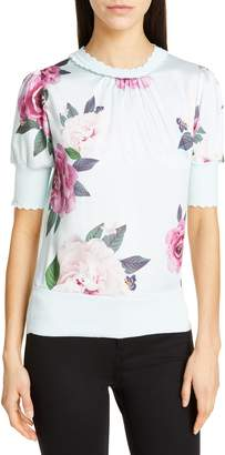 Ted Baker Leesai Magnificent Mix Media Sweater