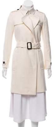 Burberry Cashmere Knee-Length Coat w/ Tags