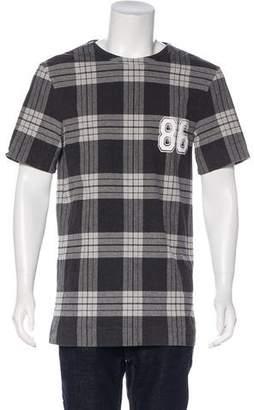 Helmut Lang Printed Short Sleeve T-Shirt