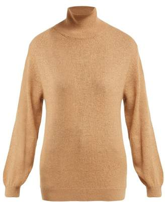 Khaite - Julie Cashmere Roll Neck Sweater - Womens - Camel