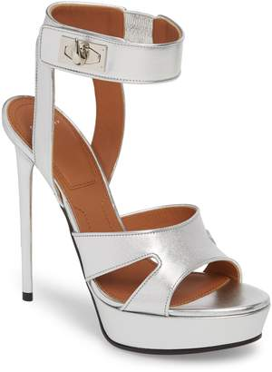 Givenchy Shark Tooth Platform Sandal